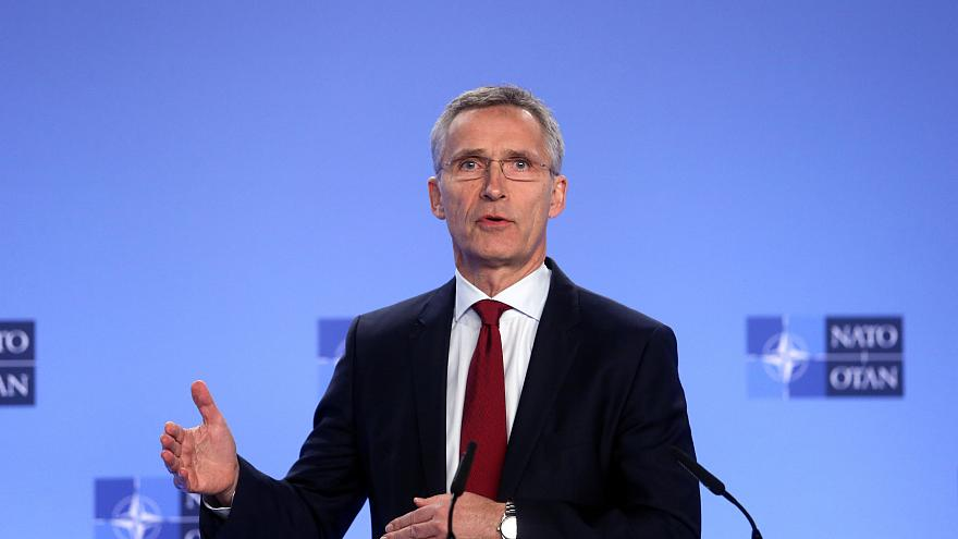 Watch again: NATO chief says increased enforcements sends a clear message to Russia
