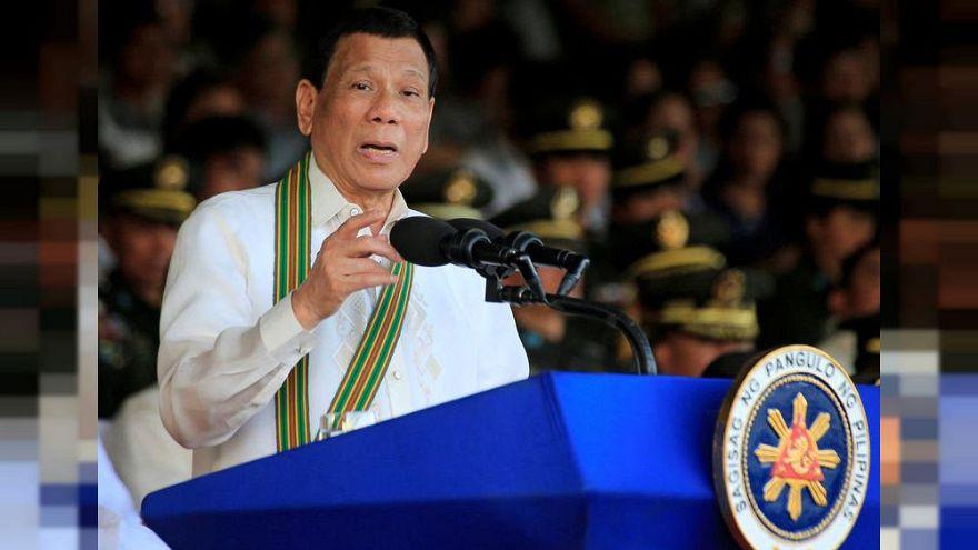 Uyuşturucu kullandığını söyleyen Devlet Başkanı Duterte: Şaka yaptım