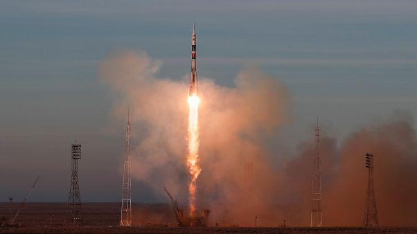 Décollage réussi d'un Soyouz vers la Station spatiale internationale