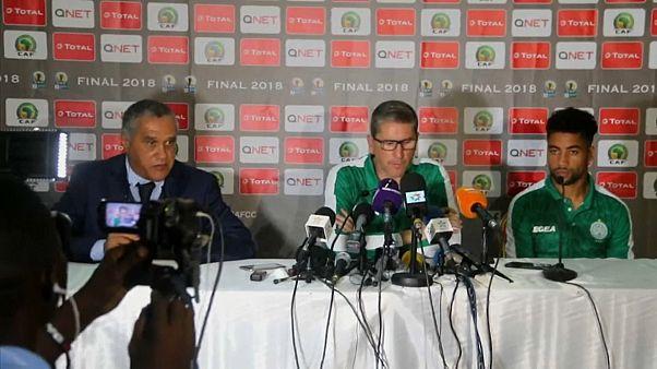 الرجاء البيضاوي يتوج بلقب الاتحاد الإفريقي لكرة القدم للمرة الثانية في تاريخه
