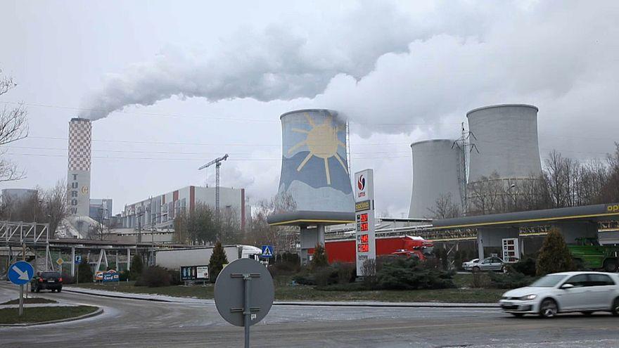 Kohleverschmutzung in Polen