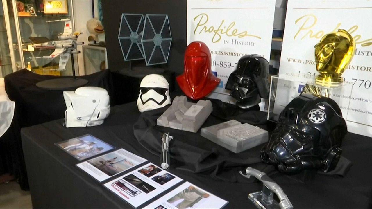 Enchères galactiques pour Star Wars
