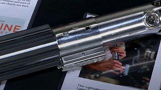 Luke Skywalker's lightsaber could fetch $200,000 at auction