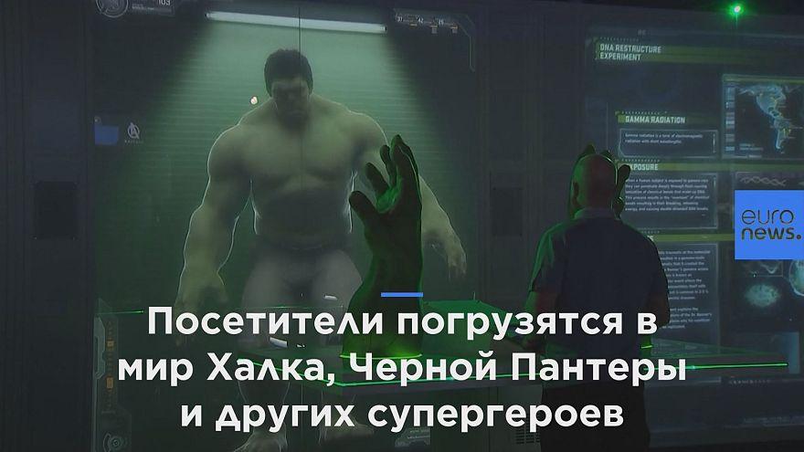 """В Лондон приехали """"Мстители"""" Marvel"""