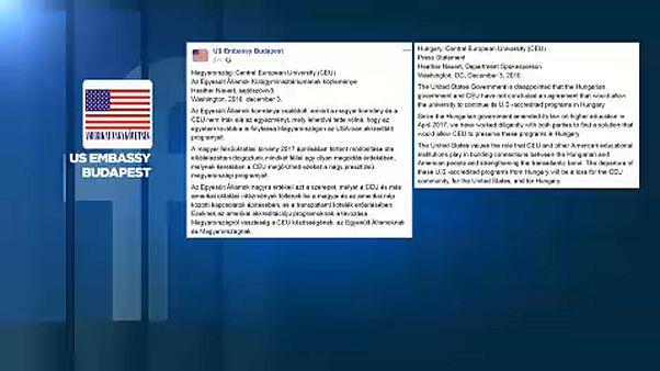 CEU: az amerikai kormány csalódott