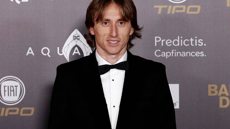 Real-Madrid Star Luka Modric gewinnt Ballon d'Or