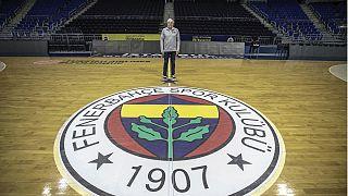 Fenerbahçe Erkek Basketbol Takımı Başantrenörü Zeljko Obradovic