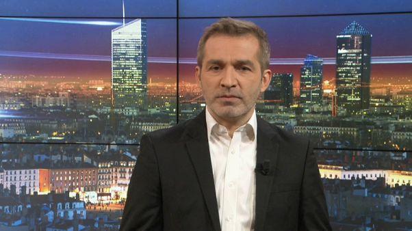 Euronews Soir : l'édition du lundi 3/12