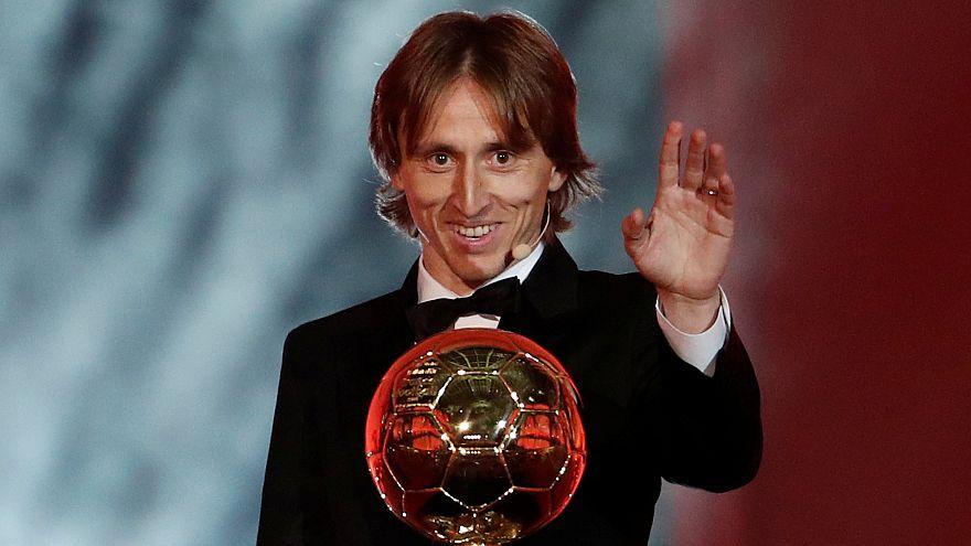Kroatiens Luka Modric gewinnt Ballon D'Or