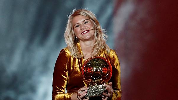 First female Ballon d'Or winner's victory marred by 'twerk' comment