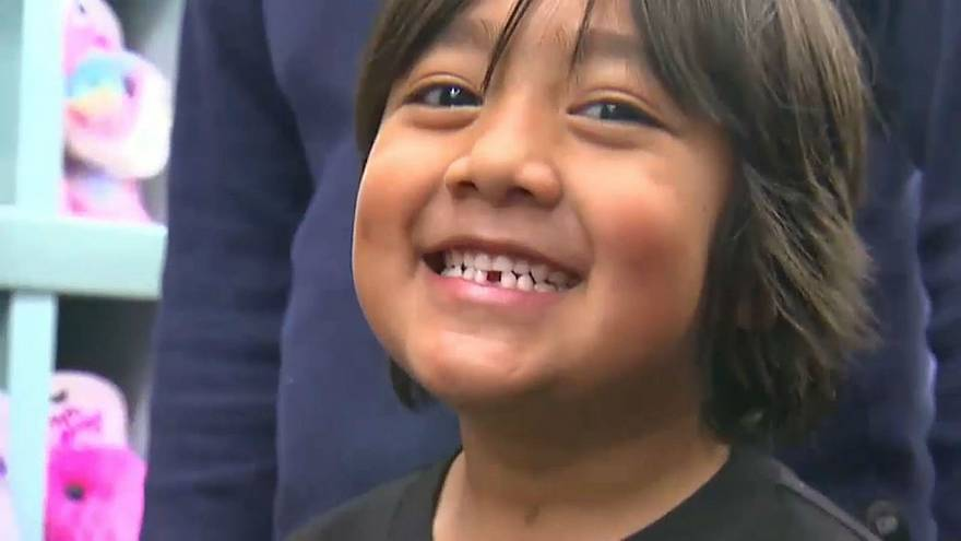 How did a 7-year-old boy end up on Forbes' list of highest-paid YouTube stars?