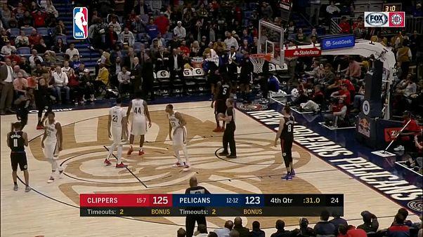 NBA: vincono Oklahoma e Clippers, 24 punti per Gallinari