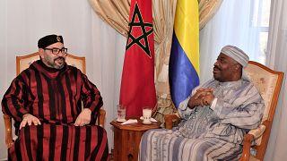 Ali Bongo apparaît aux côtés du roi du Maroc