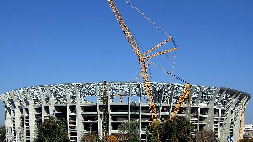 Épül az új Puskás Ferenc Stadion