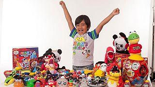 Henüz 7 yaşındaki Youtuber, 22 milyon dolarla bu yılın en çok kazananı oldu
