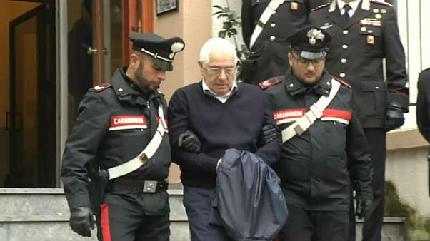 New 'mafia boss' Settimo Mineo arrested in raid