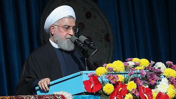 Ruhani'den blokaj tehdidi: Basra Körfezi'nden biz petrol ihraç edemezsek kimse edemez