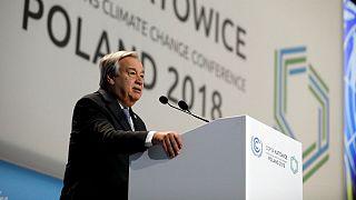 دبیرکل سازمان ملل از رهبران جهان خواست تغییرات اقلیمی را جدی بگیرند