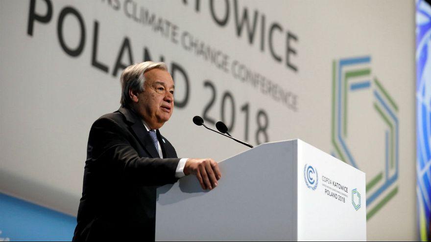 COP24: António Guterres pede mais ousadia na luta pelo planeta