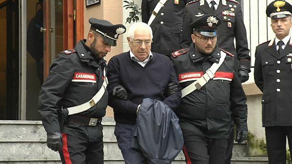 Cosa-Nostra-Boss Mineo  (80) in Palermo  festgenommen