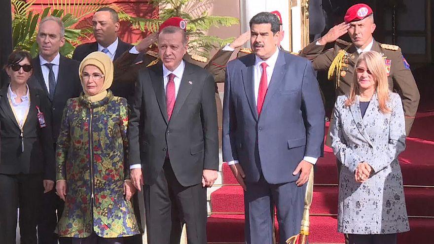 Erdogan nimmt Venezuelas Staatschef Maduro in Schutz