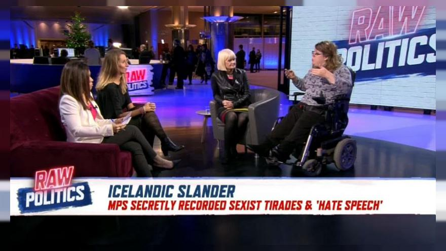 Raw Politics: Panel debates the sexism scandal that's shocked Iceland