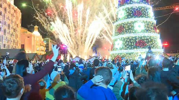 Beirut switches on its Christmas lights