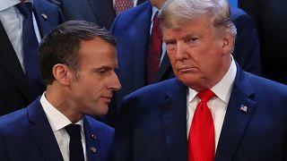 Trump'tan Macron'a Sarı Yelekliler açıklaması: Benim 2 sene önce aldığım karara vardılar