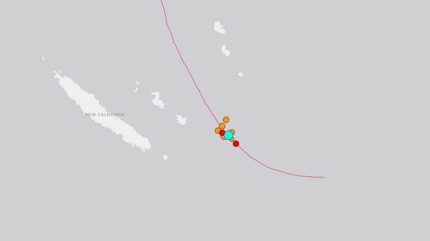 Землетрясение в Новой Каледонии