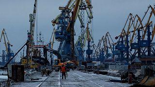 Spannungen mit Russland: Ukrainische Häfen verlieren
