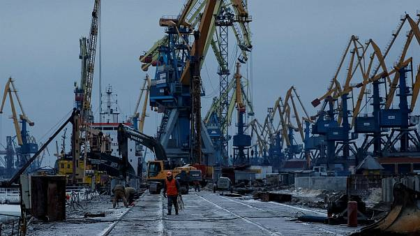 Mar d'Azov, lenta ripresa per i porti di Mariupol' e Berdyansk