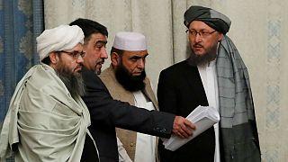 نمایندگان طالبان در نشست گفتگوهای صلح افغانستان در مسکو