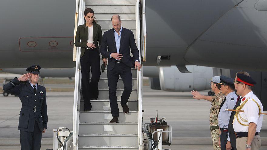 Στην Κύπρο ο πρίγκιπας Ουίλιαμ και η σύζυγος του Κέιτ