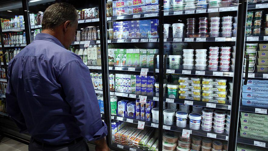 Xαμηλότερες οι τιμές του τυπικού καλαθιού στα ελληνικά σούπερ μάρκετ