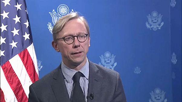Iráni szankciókért lobbizik Amerika Brüsszelben