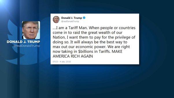 Tweet de Donald Trump ameaça acordo com China