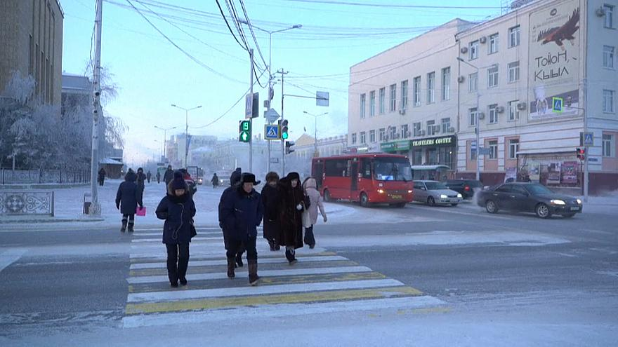 La ville de Iakoutsk en Russie, menacée par la fonte du permafrost