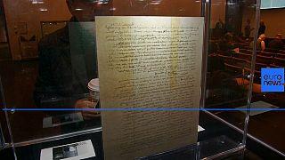 "Einstein's ""God Letter"" fetches $2.8 million at New York auction"