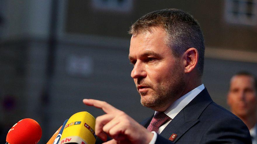 Slovak Başbakan Peter Pellegrini