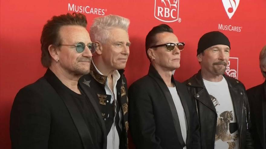 U2 top 2018 Forbes music rich list
