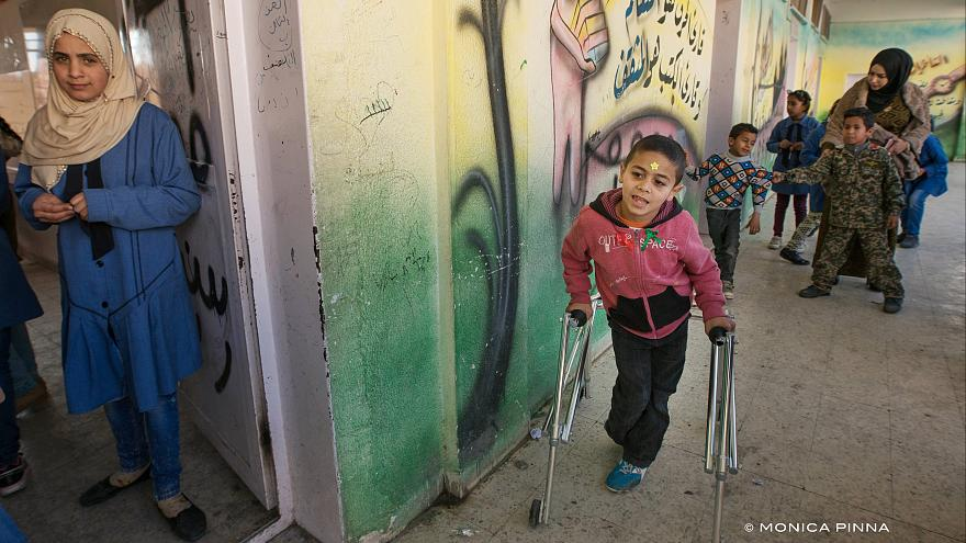 Jordan's school challenge: educating Syrian refugee children with disabilities