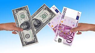 Uluslararası ticarette en çok kullanılan para birimi Euro tahtını Dolar'a kaptırdı