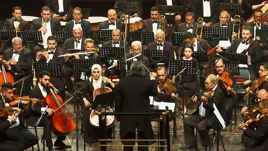 Irak Senfoni Orkestrası teröre karşı müzikle savaş açtı