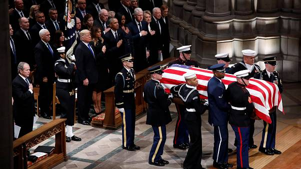 Washington: al via i funerali di Stato di Bush senior