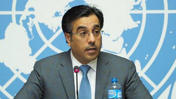 Ali bin Smaikh Al Marri of Qatar's National Human Rights Committee