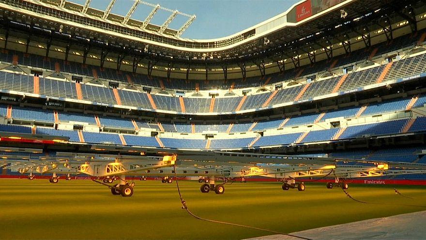Boca und River vor Finale in Madrid