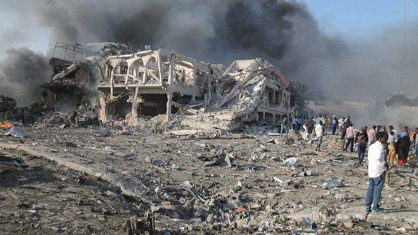 Kettős merénylet a szomáliai Mogadishuban 2017 októberében