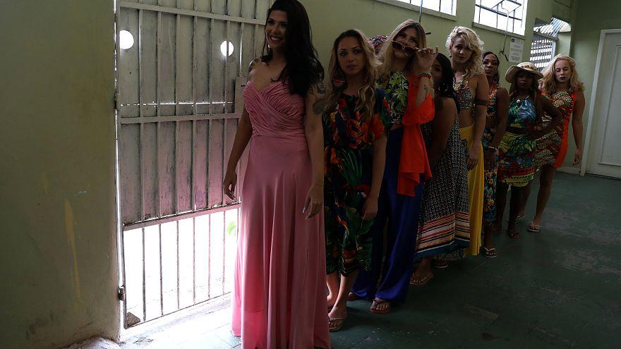 Schönheitskönigin gesucht: Wettbewerb im brasilianischen Gefängnis