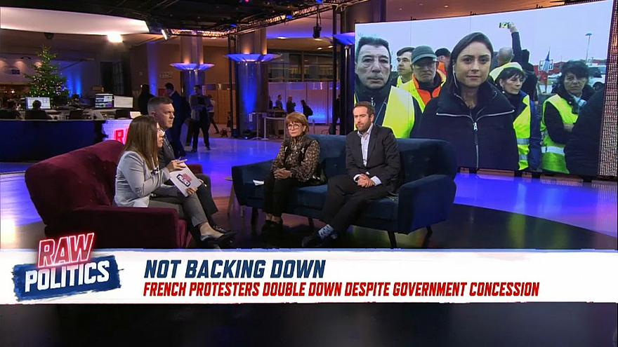 Raw Politics: Is Macron's u-turn enough to quell the 'gilets jaunes' protests?