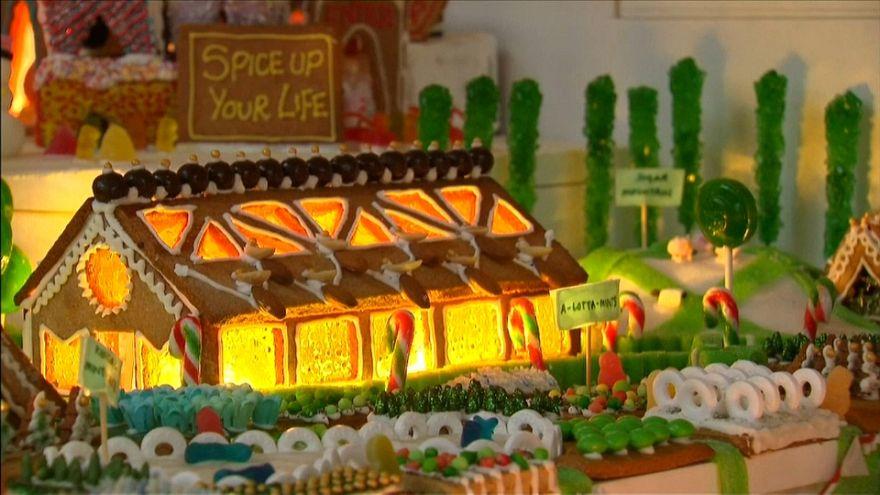 نمایشگاه شهر نان زنجبیلی در لندن
